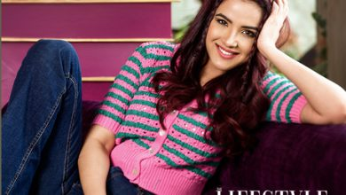 Jasmin Bhasin on the Cover Page of The Lifestyle Journalist Magazine
