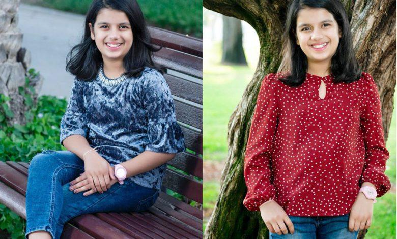 Sara Chhipa, 10 years old, Indian Creates the World Record