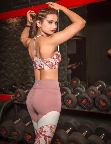 Paridhi Pandey, Fashionistas, fitness, fashion, Workout, fitness expert, thefitnessvogue