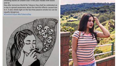 Soumita Saha Extends Support to World No Tobacco Day