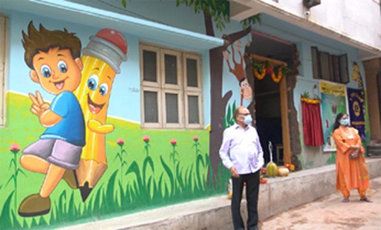 All women Lions club Hyd Petals to inaugurate Charitable Clinic for Women and Children of Slum areas in Indiranagar in Srinagar Colony