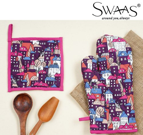 Swaas launches its debut collection of 100% cotton kitchen essentials
