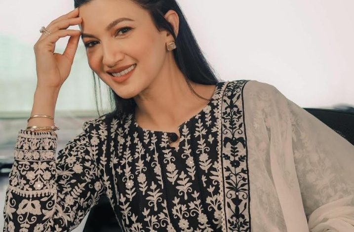 Actress Gauahar Khan ropes in charm with ethnic wear for a virtual event !