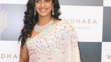 Olympic Medalist PV Sindhu inaugurates Vasundhara a flagship Jewellery Store
