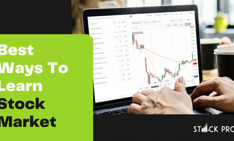 Stock Pro Chief Mentor Dr. Seema Jain explains 3 ways to learn the stock market trading for beginners