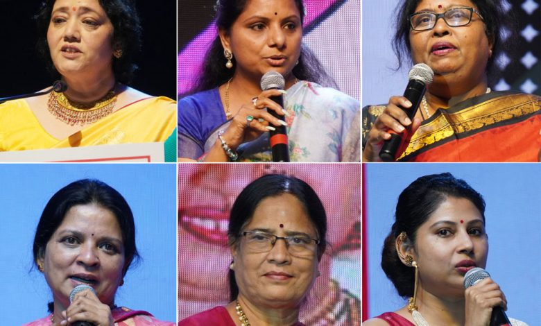 Kavitha Kalvakuntla presented TCEI's 4th Stri Shakti Awards 2021